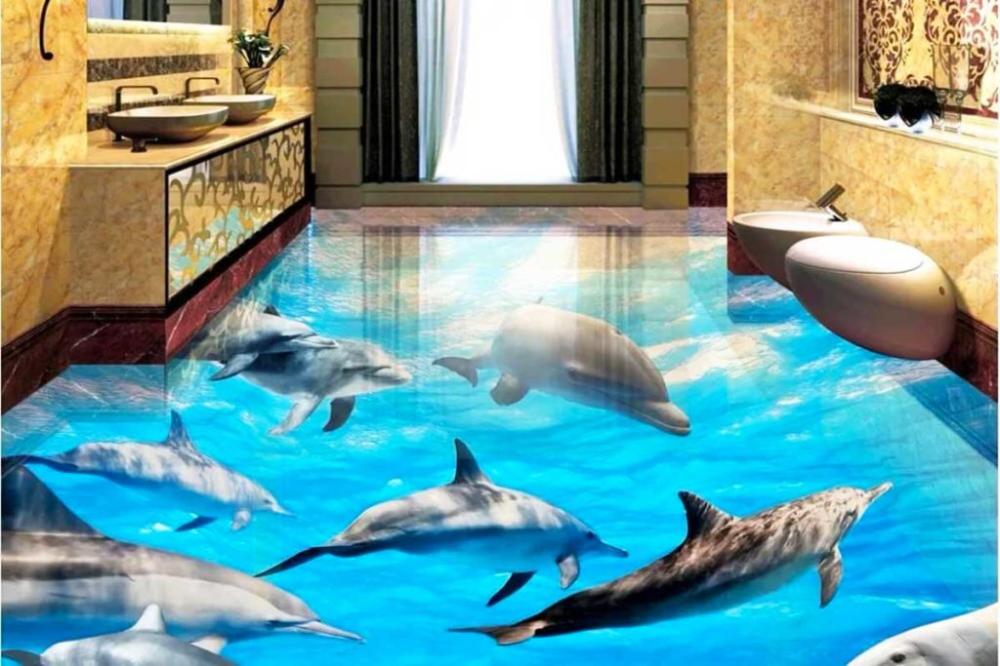 ديكورات ثلاثية الابعاد ديكور حمام ثلاثي الابعاد In 2020 Decor Fish