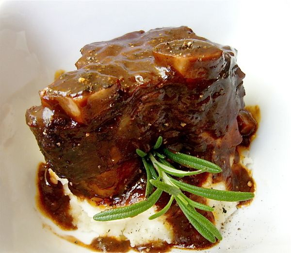 Recipes For The Slow Cooker -Short Ribs With Red Wine And Prunes  (Serves 8),  Calamari Niçoise with Black Olives  (Serves 6), Saffron Vegetable Stew  (Serves 6 as a main course or 8 as side dish),