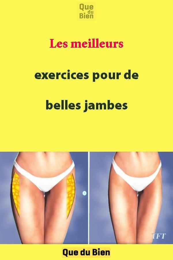 Les meilleurs exercices pour de belles jambes   Comment ...