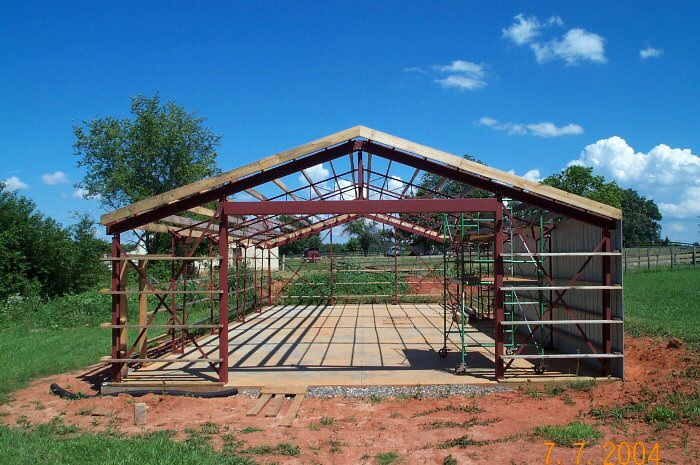 Steel web trusses for the diy market bolt together and designed if you are looking for a pre fabricated steel or metal building miracle truss buildings has the solution with our do it yourself steel buildings kits solutioingenieria Gallery