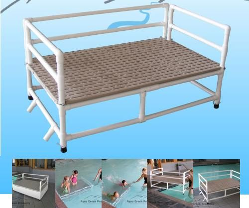 Resting and training platforms for above ground pools - Above ground pool platform ...