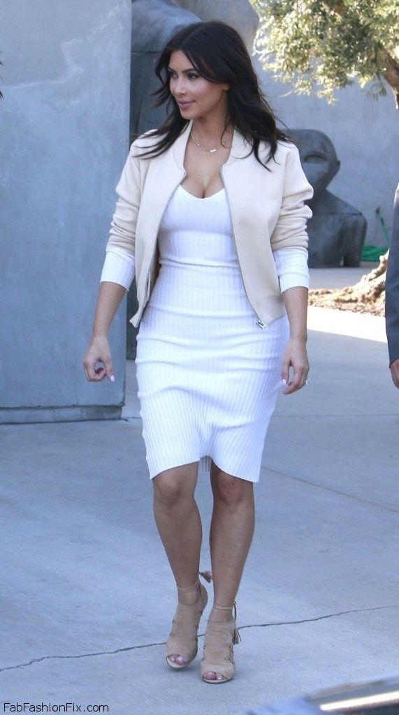 Kim Kardashian spring street style