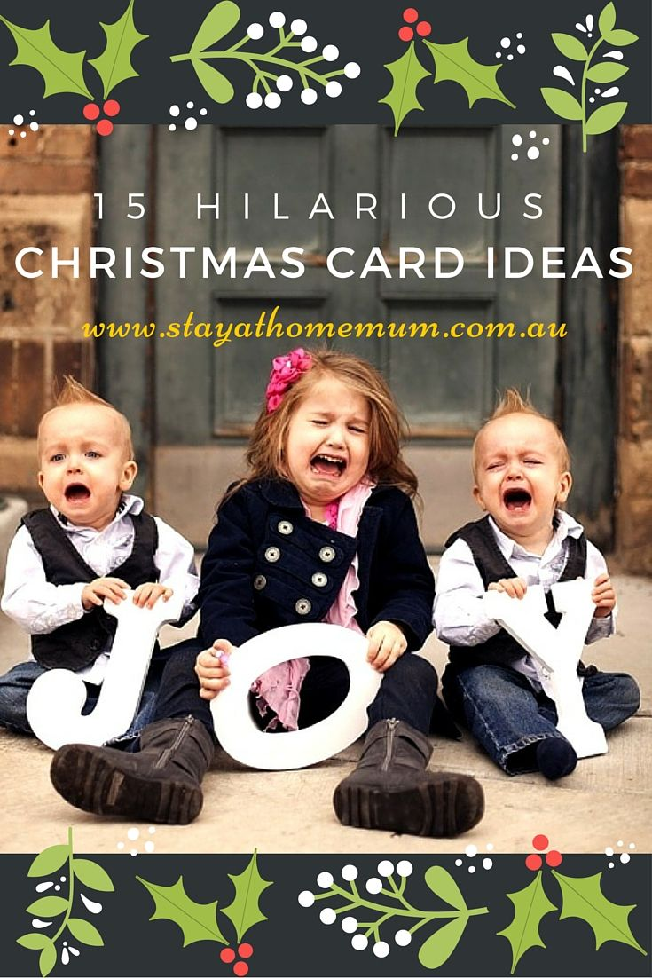 Hahahahahaha get a load of these Christmas cards!! Hilarious ...