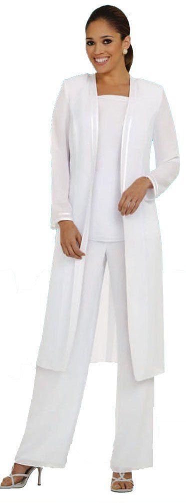 Women 3pc pant set plus size evening dress wedding suit for Dress pants for wedding