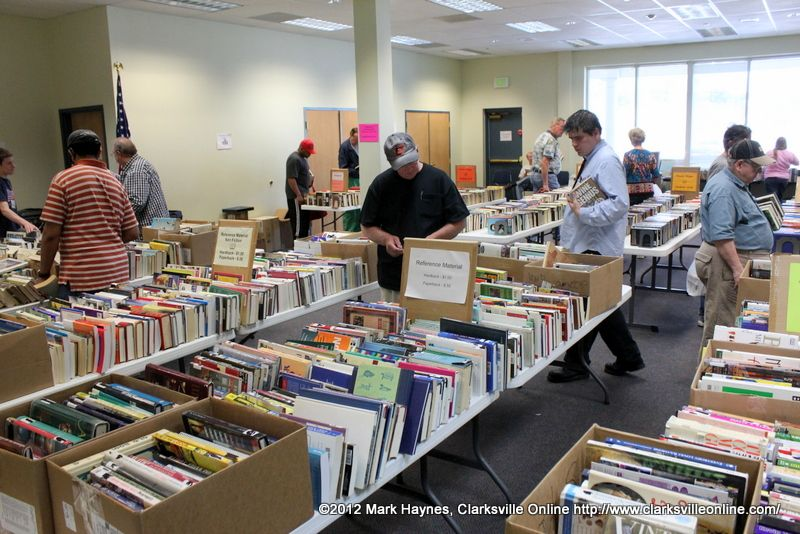 The Fall Friends of the Library Book Sale at the Montgomery County Library will be held beginning at 4:00pm on Thursday, October 25th, for members only. You can become a member at the door for only $5.00 for an individual or $10.00 for a family.