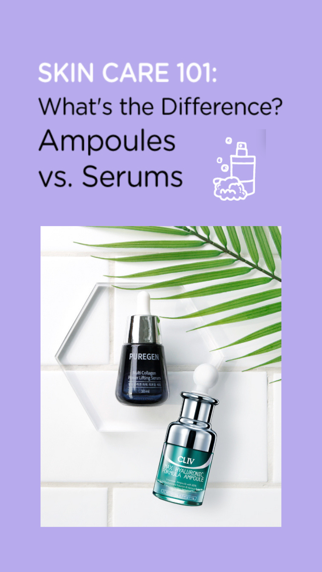 What S The Difference Between Ampoules And Serums Skin Care Serum Skin