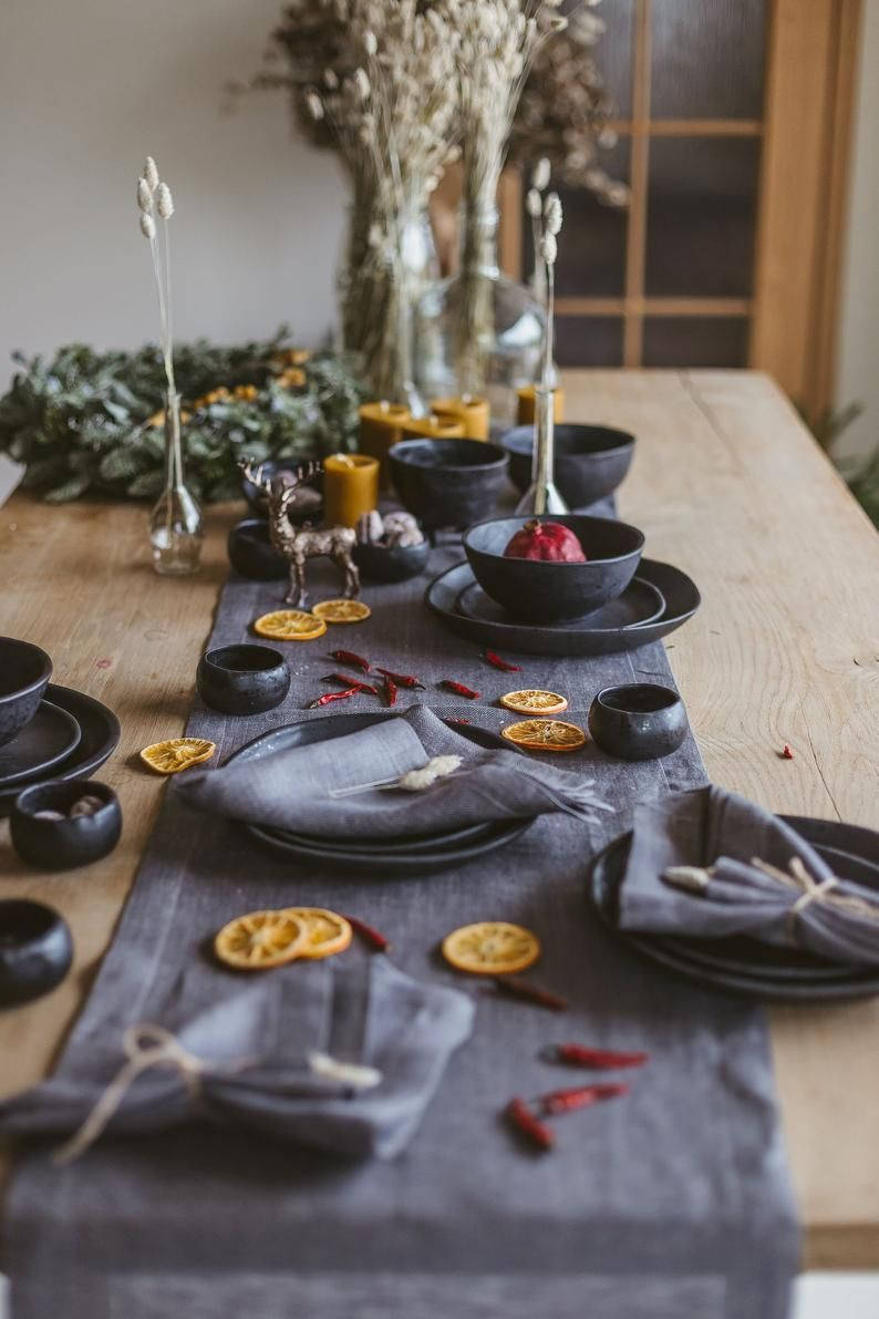 Grey Christmas Placemats Holiday Placements Christmas Table Decor Place Mats For Holiday And Christmas Decorations Placemats Set Of 4 Christmas Placemats Christmas Table Decorations Table Decorations