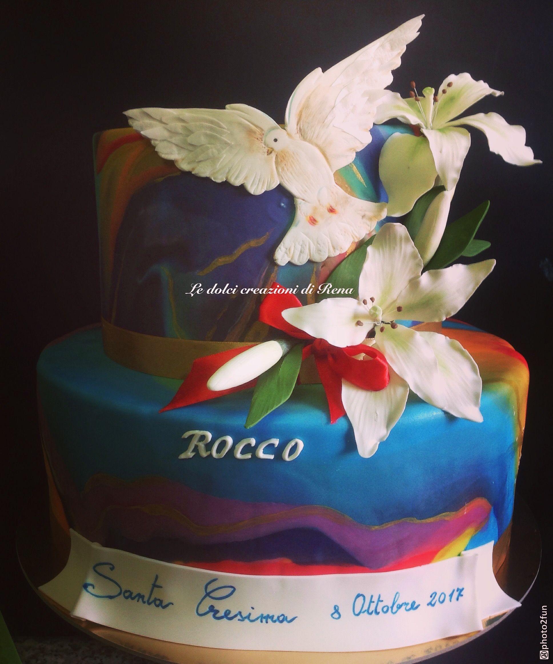 Torta Cresima originale, originale cake, Confirmation, Confirmation ...
