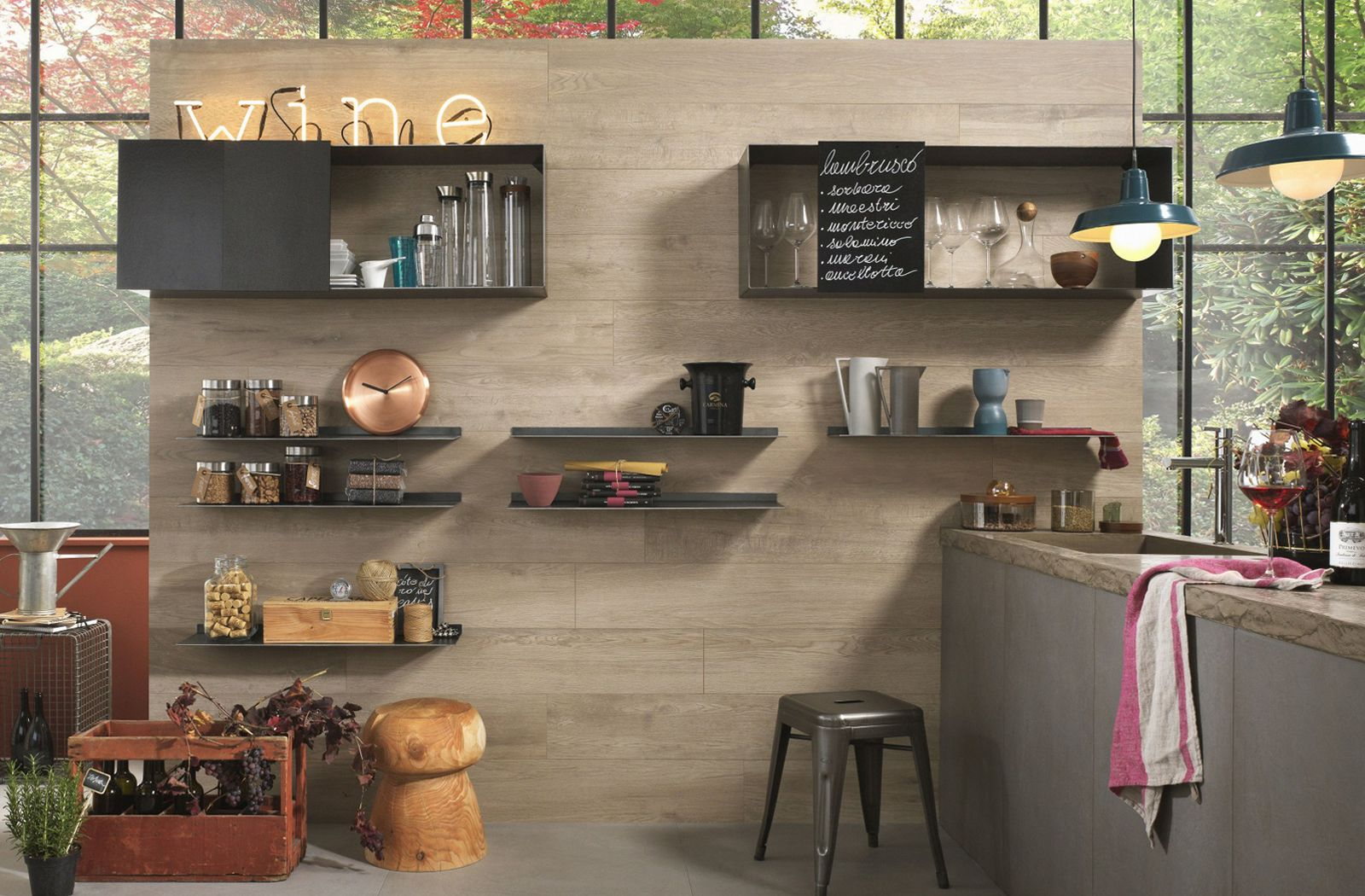 Kitchen Wall Storage Ideawall Tile From My Plank Collection Entrancing Kitchen Wall Storage Review