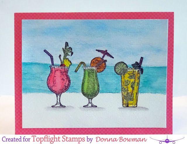 Cocktail Art Print Watercolor Art Summer Drink Caipirinha