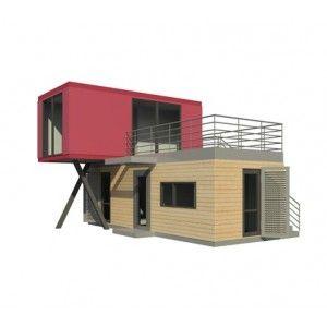 maison modulaire cl en main nova 52 container pinterest maisons modulaires modulaire et cl s. Black Bedroom Furniture Sets. Home Design Ideas