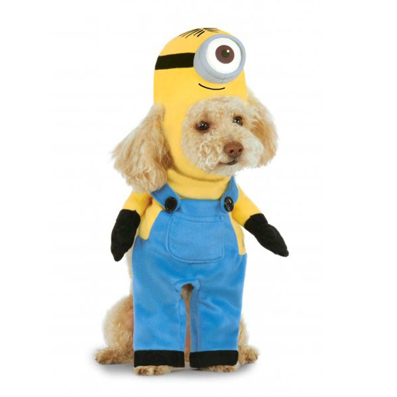 Walking Minion Dog Costume Stuart Minion Dog Costume Pet