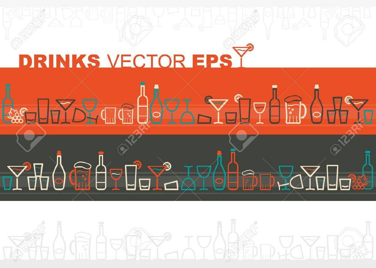 Wine And Drinks Border Affiliate Wine Drinks Border Graphics Inspiration Motion Graphics Inspiration Drinks