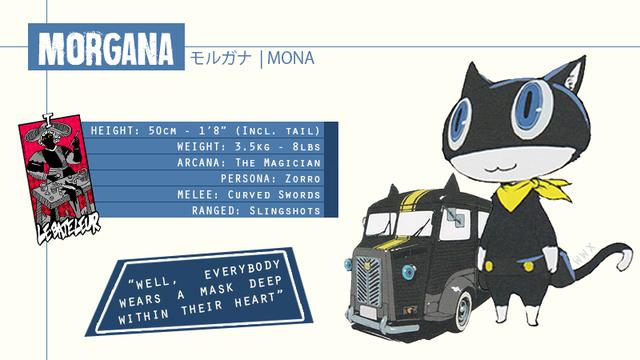 Morgana Persona 5 Persona Shin Megami Tensei Persona