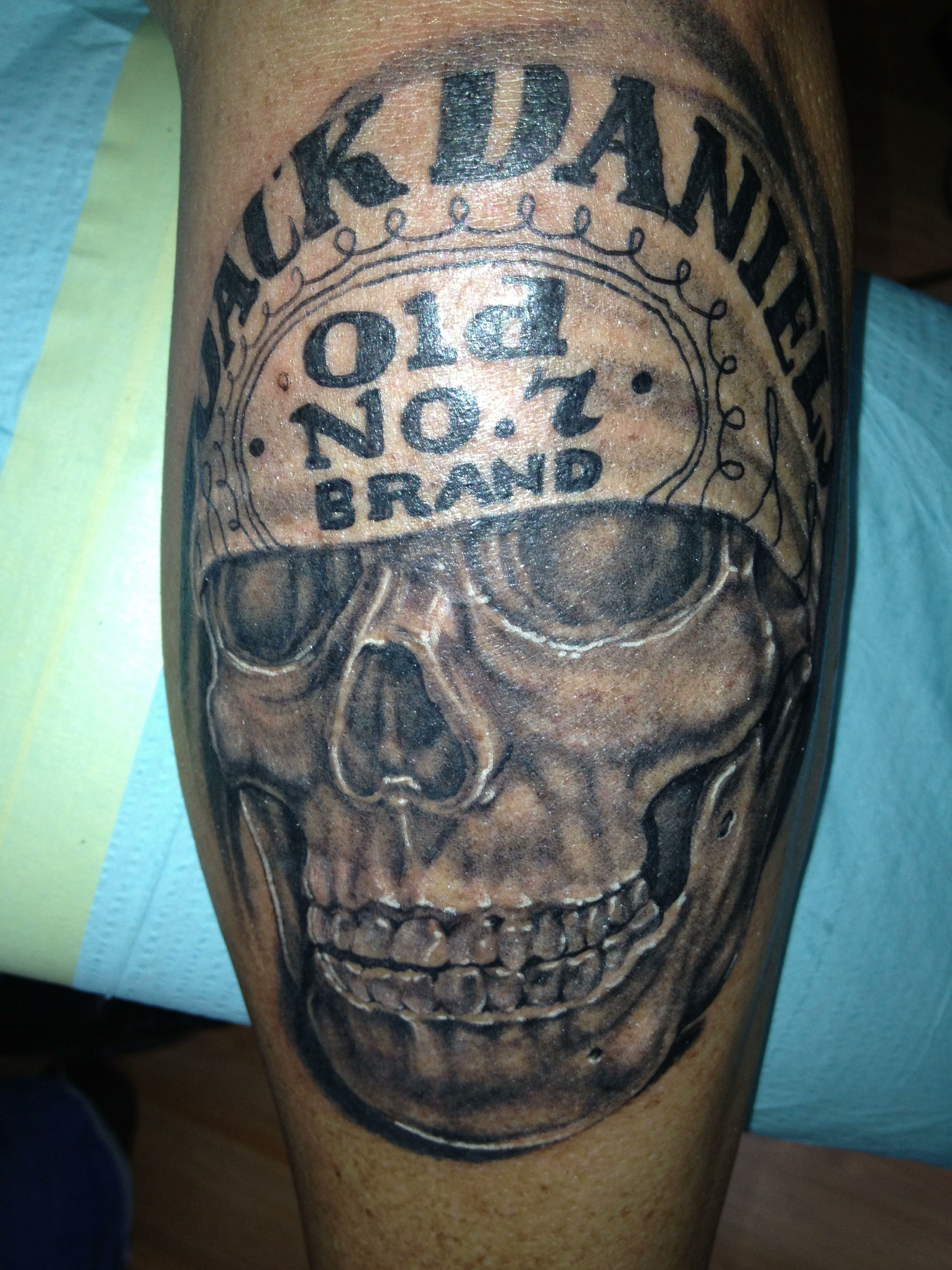 Route 66 tattoo picture at checkoutmyink com - Jack Daniels Skull