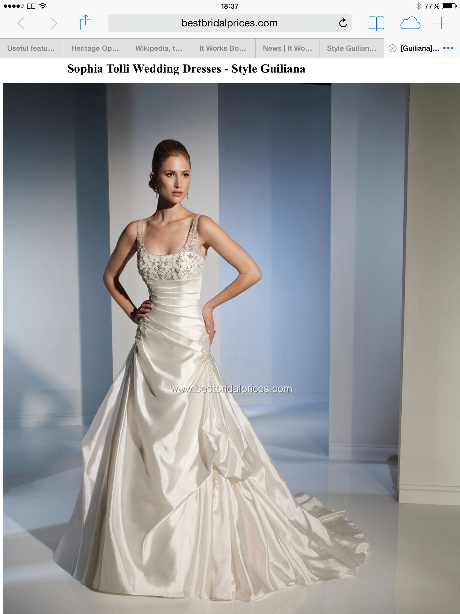 Beautiful Wedding Dresses Sophia Tolli Model - All Wedding Dresses ...