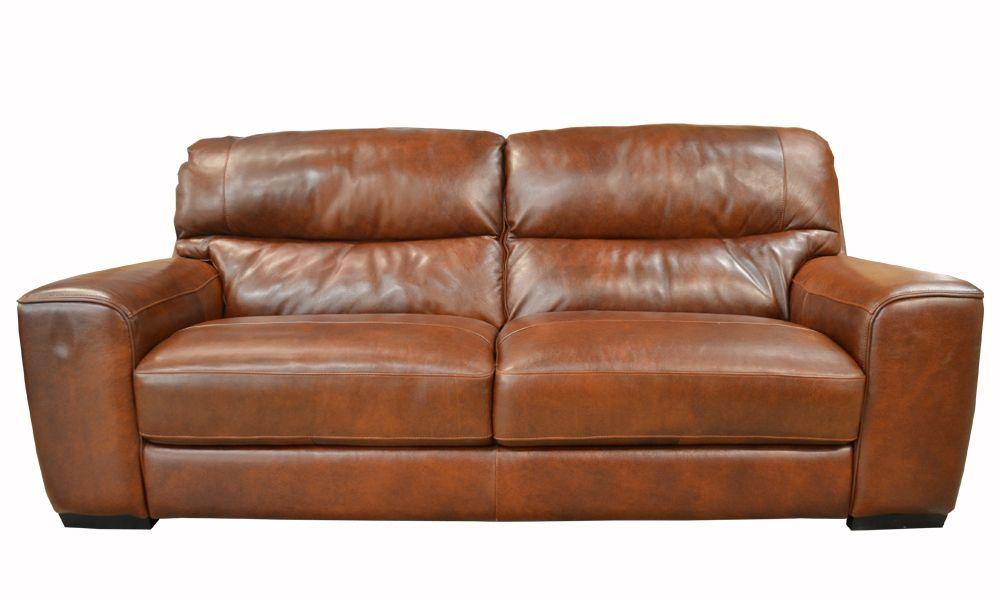 Prado Extra Large Sofa In Brown Leather