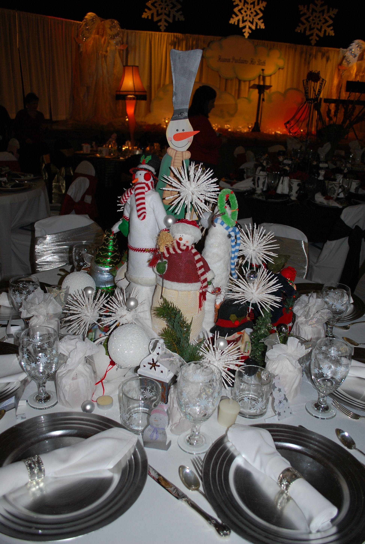 2009 Christmas Tea table center piece at our church