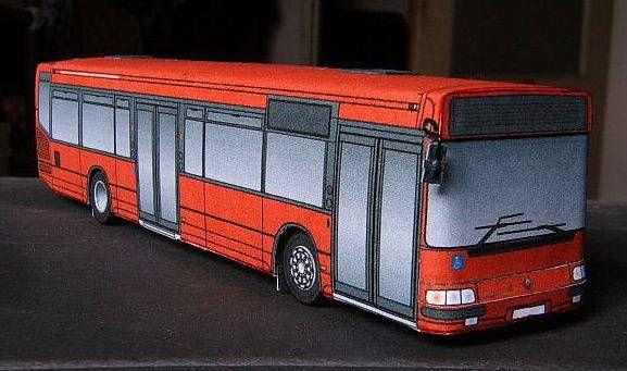 6 Irisbus Agora City Bus Paper Models Free Templates Download
