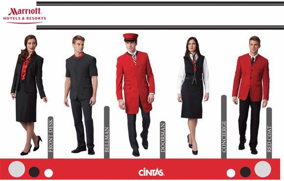 Hotel restaurant uniforms google uniforms for Spa employee uniform