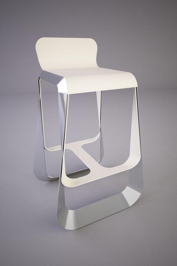 MOCO Bar Stool By Svilen Gamolov · Modern ChairsModern FurnitureFurniture  ...