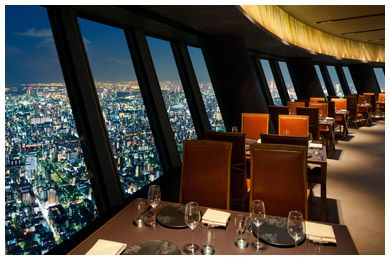 I Suppose We Could Add This To Our Tokyo Trip Restaurant In The Sky Tree