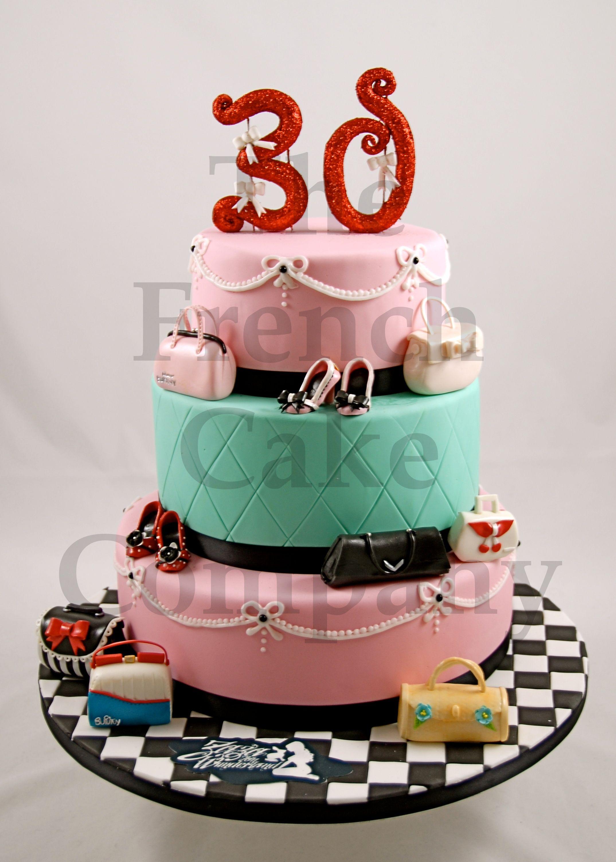 Birthday cake gateau d 39 anniversaire decore verjaardagstaart anniversaire pinterest - Image gateau anniversaire 30 ans ...