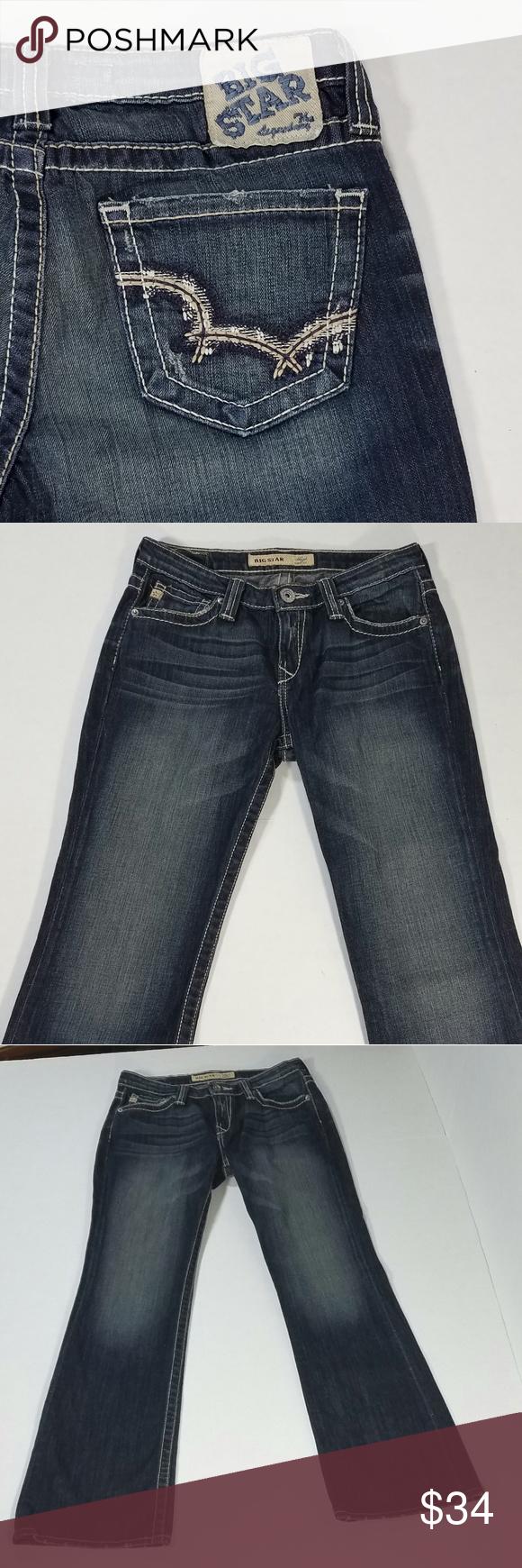 984354dd76d Big Star Hazel Curvy Fit Bootcut Jeans Size 27 Big Star Hazel Curvy Fit  Bootcut Jeans