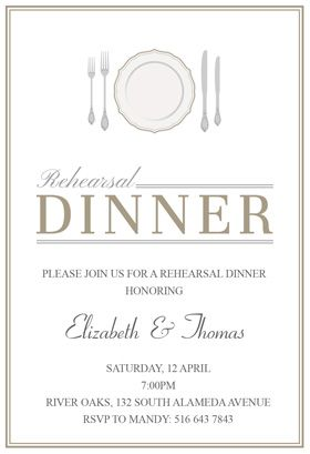 photo about Free Printable Rehearsal Dinner Invitations named Tasteful surroundings\