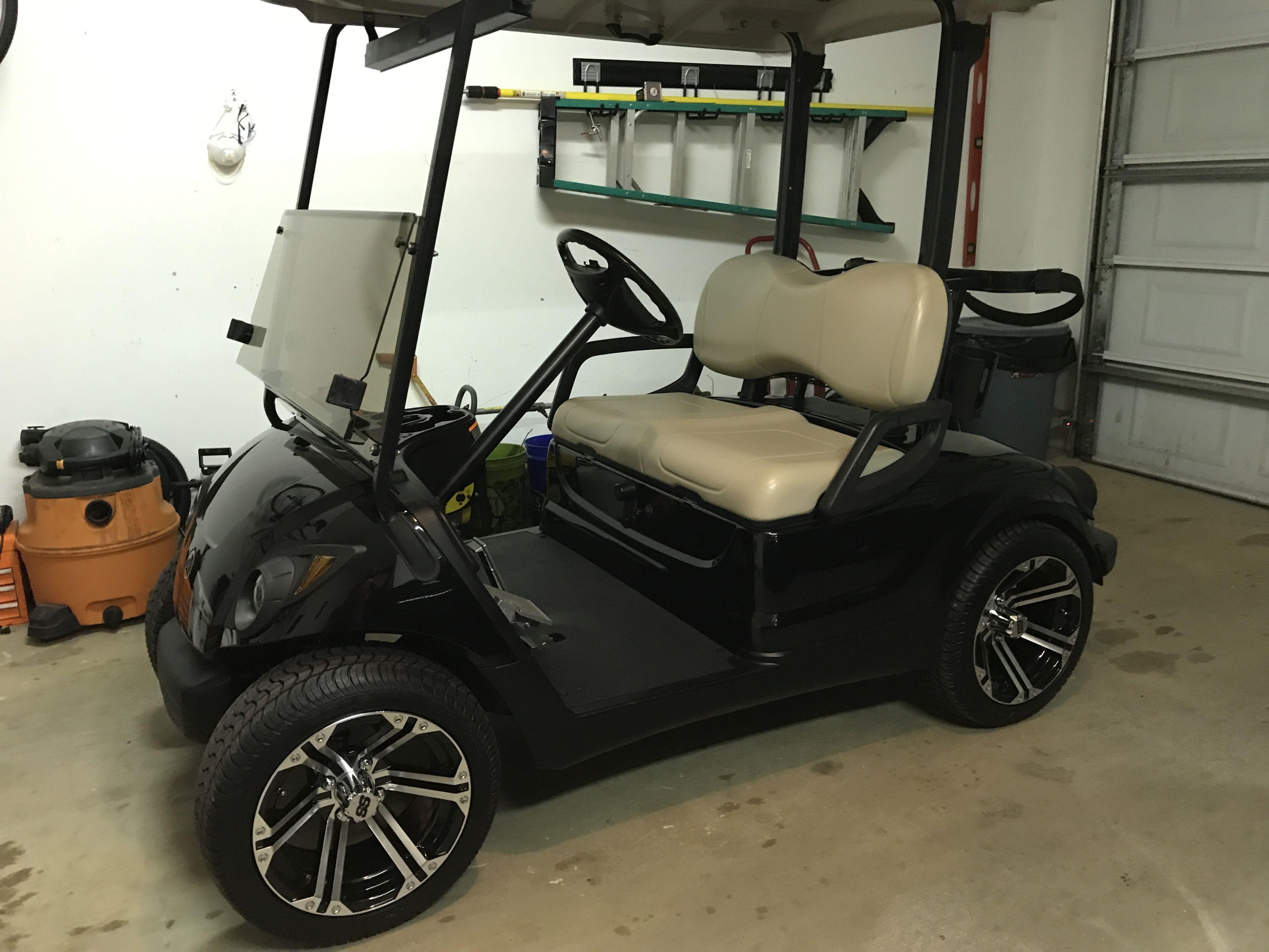 Yamaha golf cart with 14 inch wheels. | Golf Cart | Pinterest | Golf on yamaha side by side, yamaha utility, yamaha electric carts, used carts, gas powered carts, yamaha trailers, yamaha passenger carts, custom lifted carts, gasoline carts, ezgo carts, yamaha gas carts,