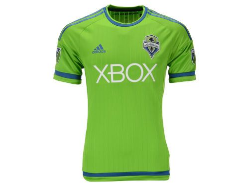 c1c536d69 Seattle Sounders FC adidas MLS Men's Primary Authentic Jersey ...