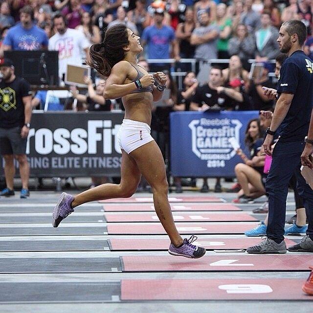 Lauren Fisher #crossfit #competitor