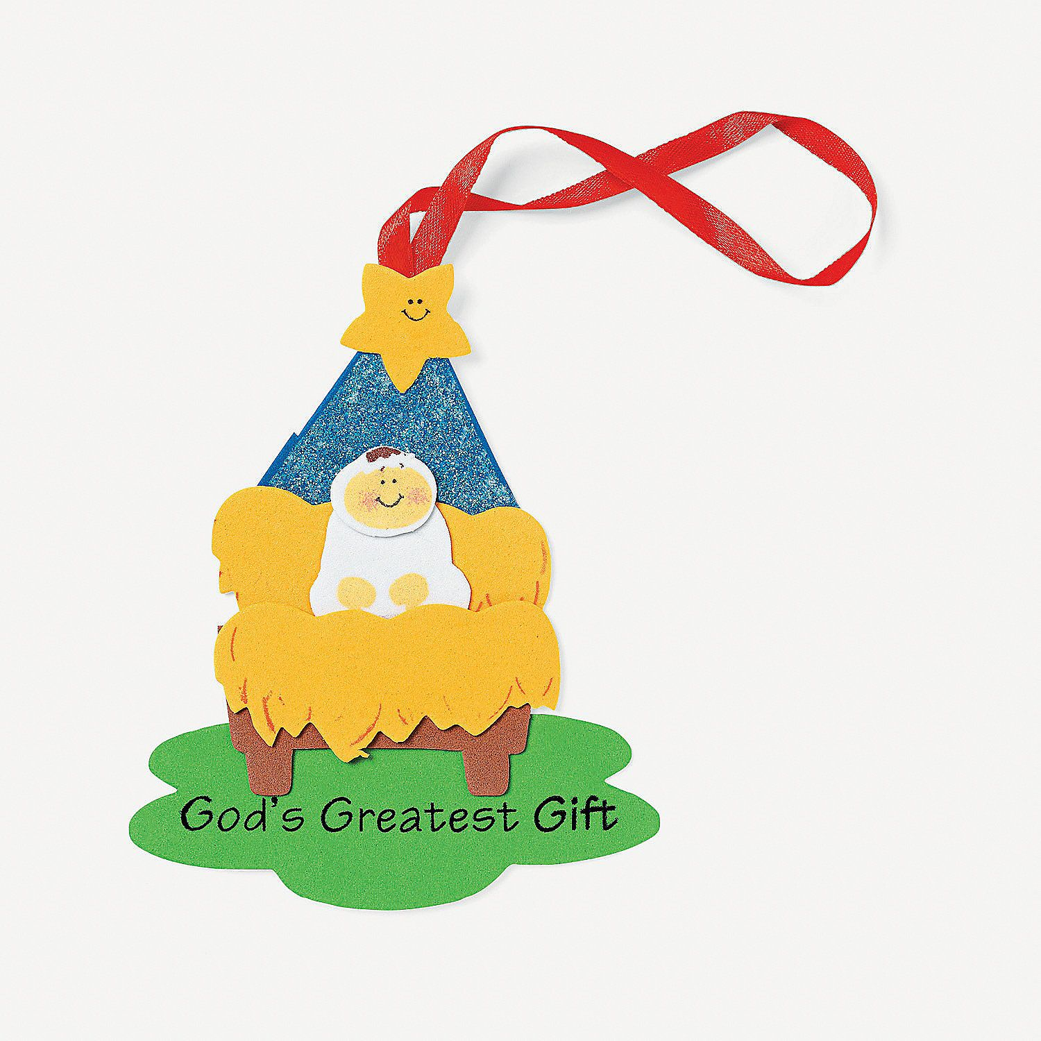 God S Greatest T Christmas Ornament Craft Kit