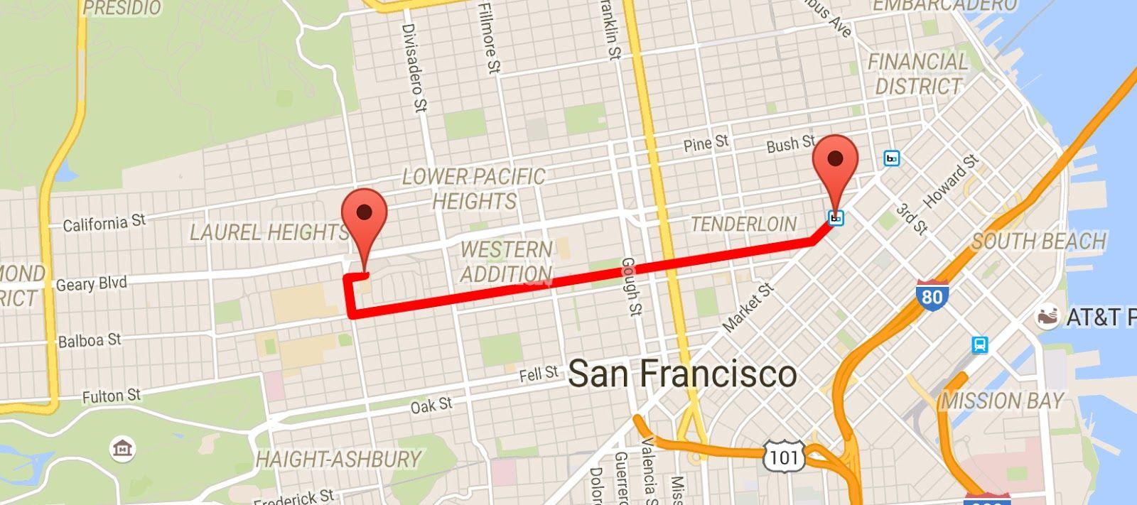 [Android Code] ใช้งาน Google Maps Direction API ให้ง่ายๆ