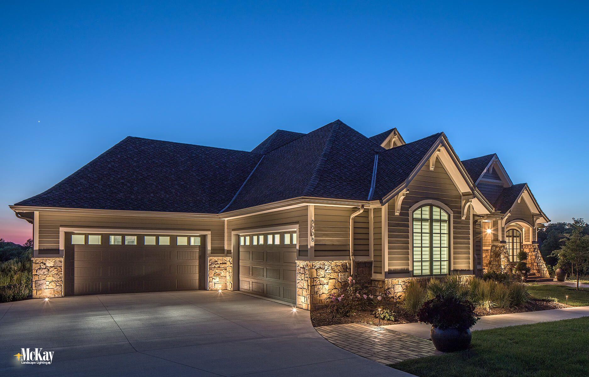 Pin On Scenic Estate Architectural Landscape Lighting Omaha Nebraska