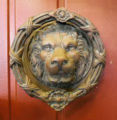 Antique Lion Door Knocker   Google Search