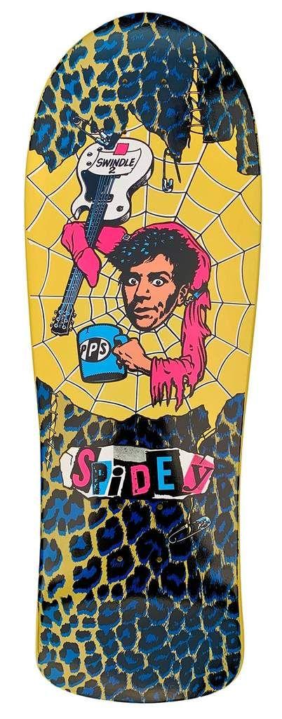 Paisley Pei Zha Li Skateboard deck