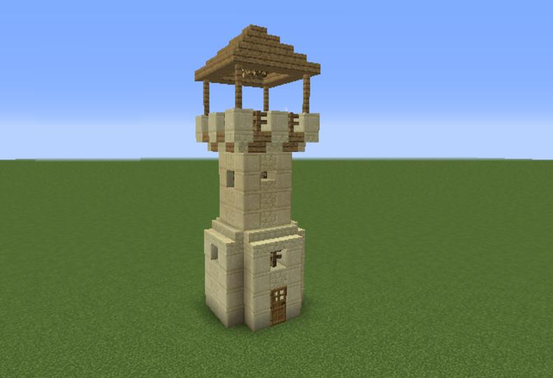 Basic Arabian Desert Tower - Grabcraft