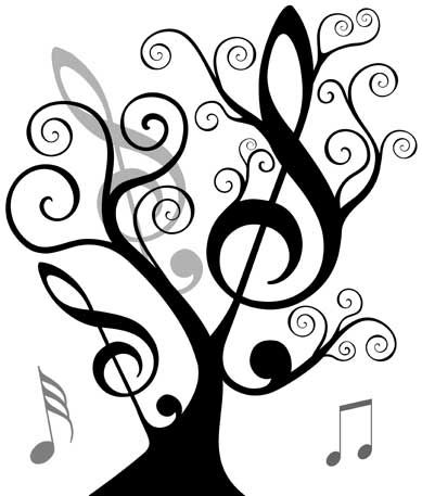 music symbols pictures graphics | use music to enhance learning