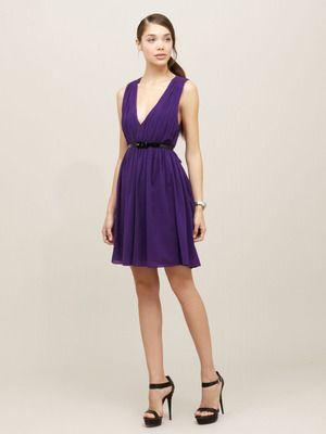 4fee091a15de Alice + Olivia Caprice Pleated Cross Back Dress | My Style | Dresses ...