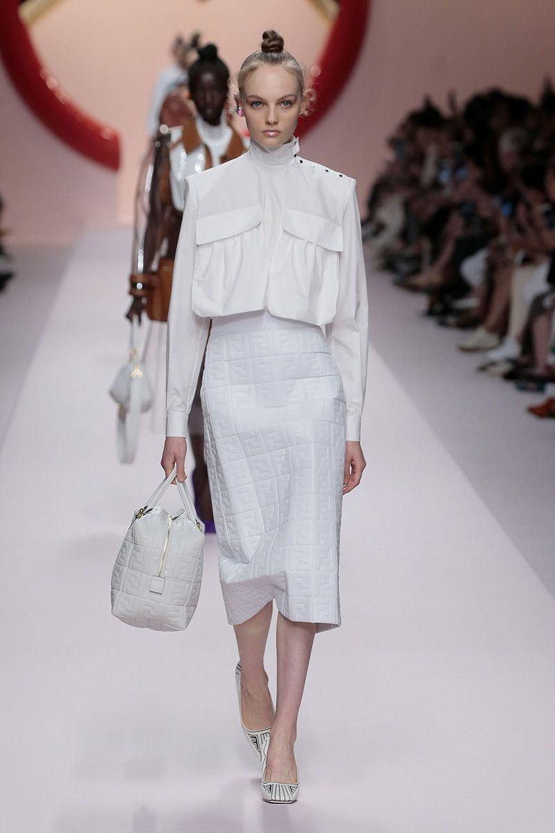 Fendi Women's Spring/Summer 2019 Fashion Show | Fendi ...