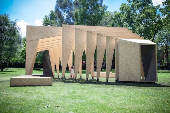 Triumph Pavilion 2014, Museum of Childhood, Bethnal Green, London, UK by IPT Architects ...