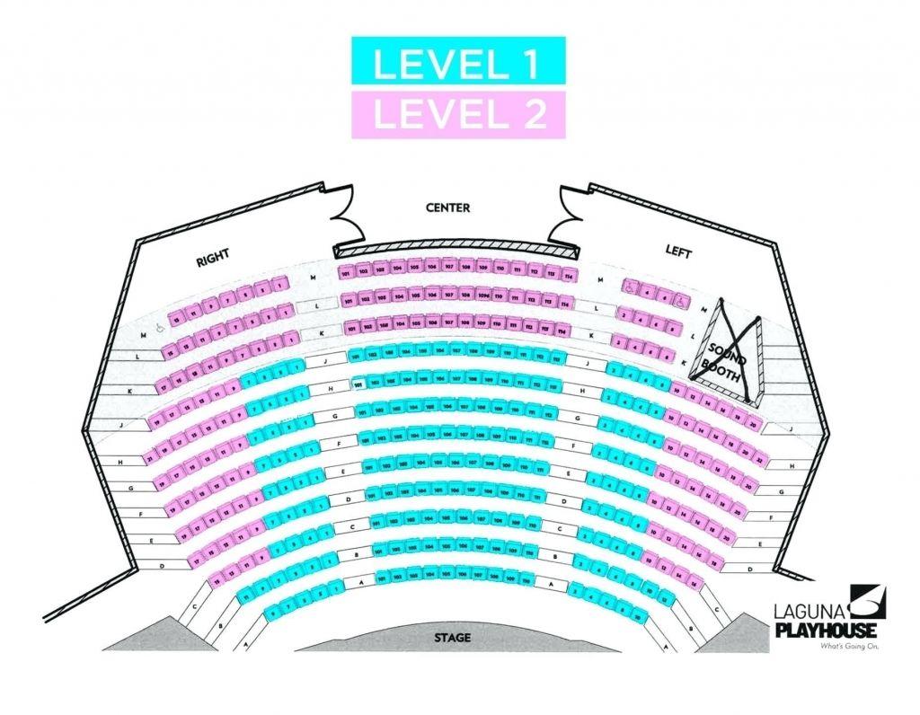 Pasadena Playhouse Seating Chart Di 2020