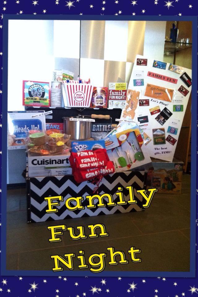 Palm Valley School Family Fun Night Basket Chalked Games Movies Popcorn