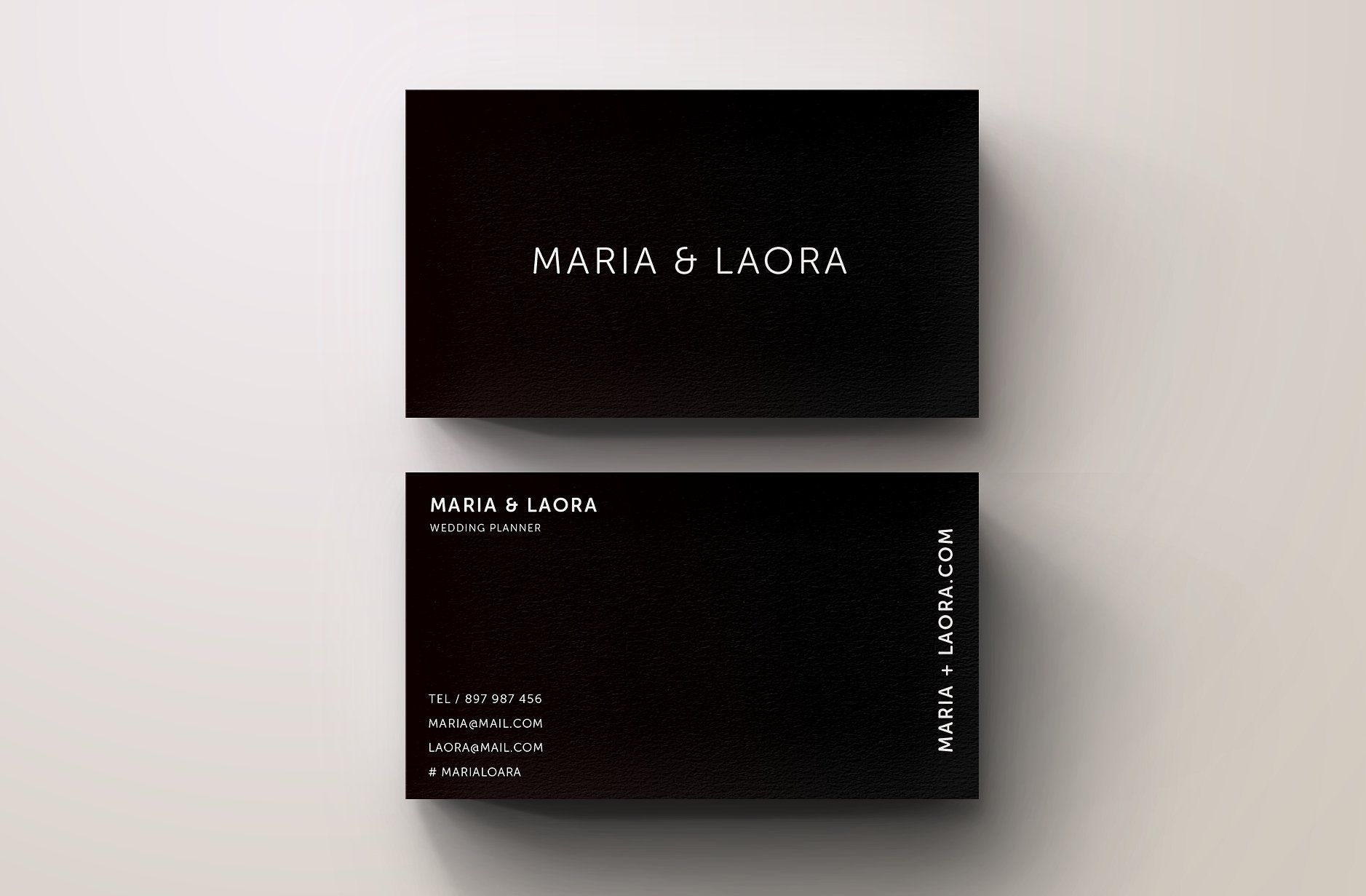 Black White Modern Business Card Business Cards Creative Templates Modern Business Cards Business Cards Creative