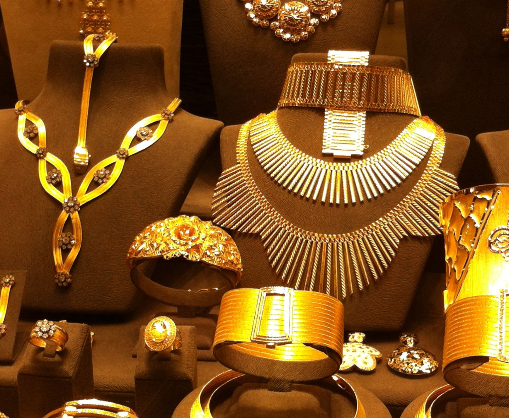 Joyas de oro Gran Bazaar Estambul Gold jewelry Grand Bazaar