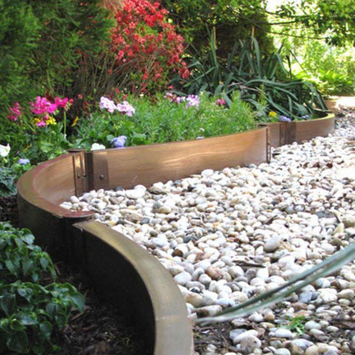 Easy Cheap Flower Bed Ideas: 17 Simple And Cheap Garden Edging Ideas For Your Garden