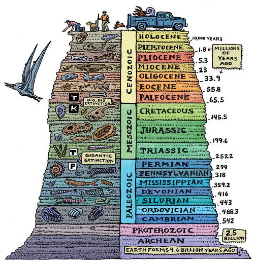 Geologic timeline...