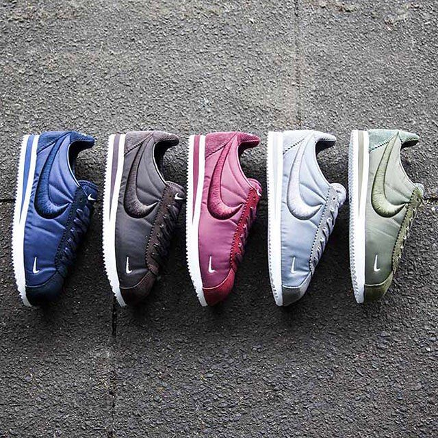 Nike is releasing the Classic Cortez SP in five colorways perfect for the  fall.