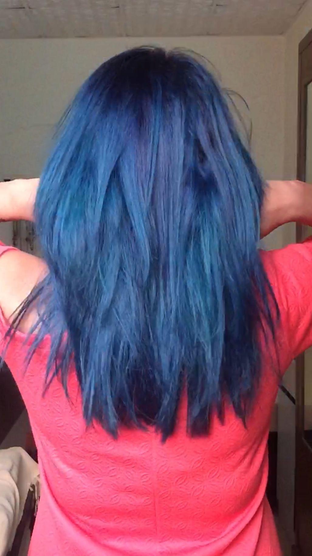 Shades Of Blue Hair Color Crazy Hair Shades Hair Styles